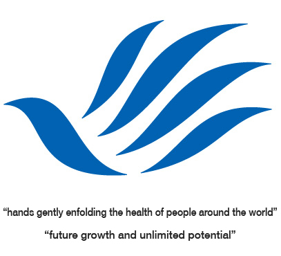 hands gently enfolding the health of people around the world,future growth and unlimited potential